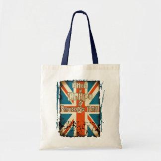 British Fish n Chips Budget Tote Bag