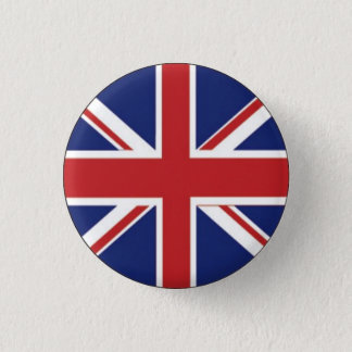 British Flag 3 Cm Round Badge
