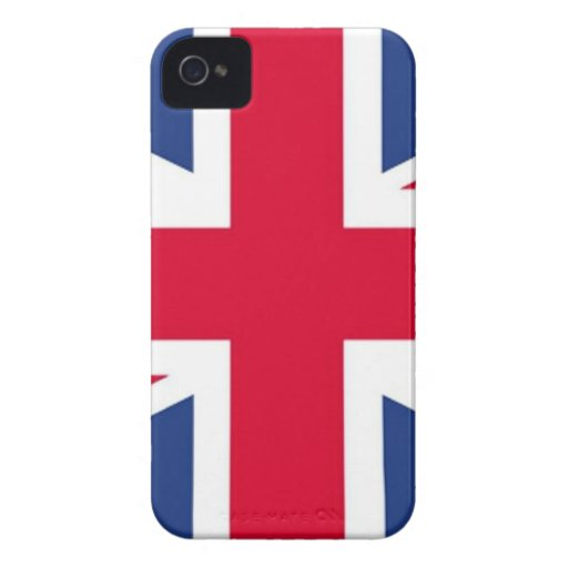 British flag Barely There™ iPhone 4 Case