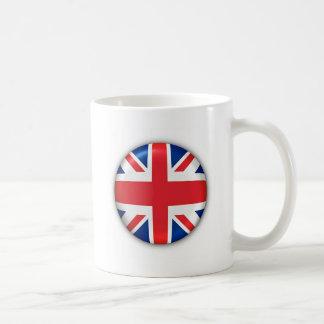 BRITISH FLAG BASIC WHITE MUG