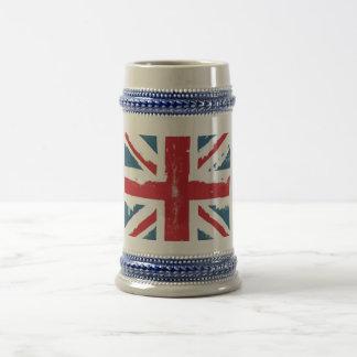 British Flag Beer Stein