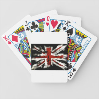 British Flag Bicycle Playing Cards