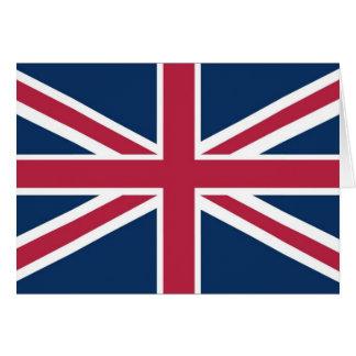 British flag card