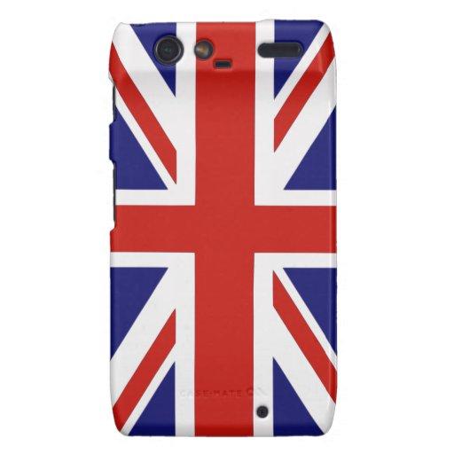 British flag motorola droid RAZR covers