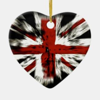 British Flag Ceramic Ornament