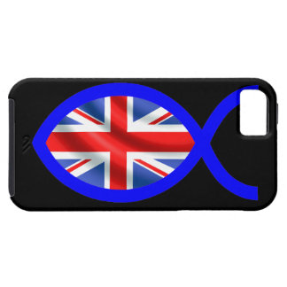 British Flag Christian Fish Symbol iPhone 5 Cases