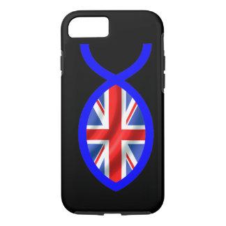 British Flag Christian Fish Symbol iPhone 7 Case