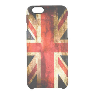 British flag clear iPhone 6/6S case