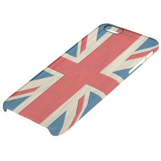 British flag clear iPhone 6 plus case