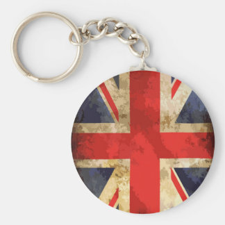 British Flag Design Keychain