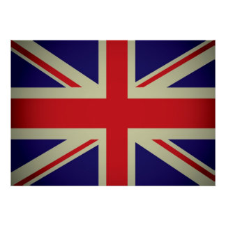 British flag design poster