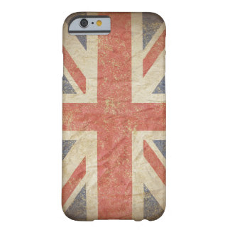 British Flag Distressed Barely There iPhone 6 Case