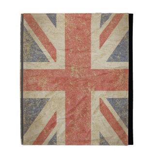 British Flag Distressed iPad Folio Covers
