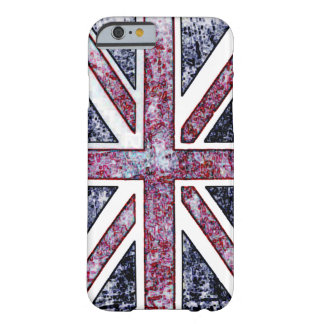 British Flag Distressed Look Barely There iPhone 6 Case