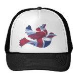 British Flag Dove Hats