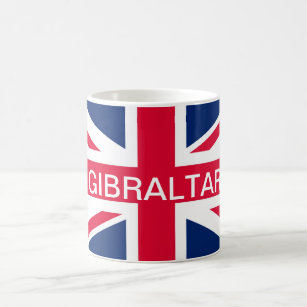 British Flag Gibraltar Mug