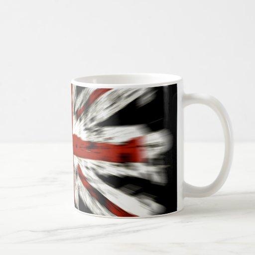 british-flag graffiti style mug