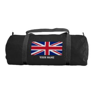 British flag gym bag