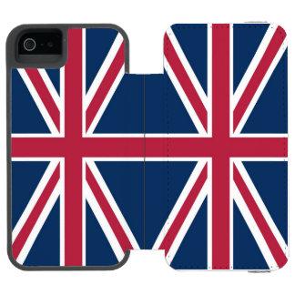 British Flag Incipio Watson™ iPhone 5 Wallet Case