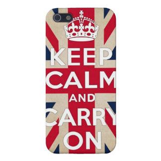 british flag iPhone 5/5S cases