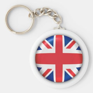 BRITISH FLAG KEY RING