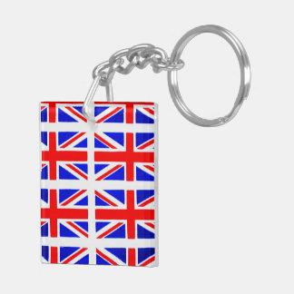 BRITISH FLAG ACRYLIC KEY CHAINS