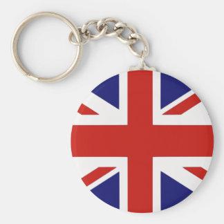 British flag key ring