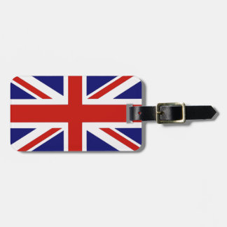 British flag luggage tag