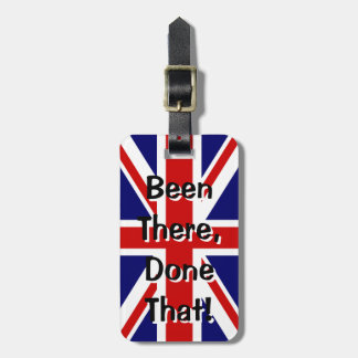 British flag luggage tag | Been there done that!