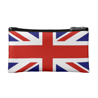 British flag makeup bag