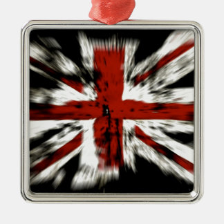 British Flag Metal Ornament