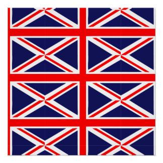 British Flag motif