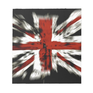 British Flag Notepad