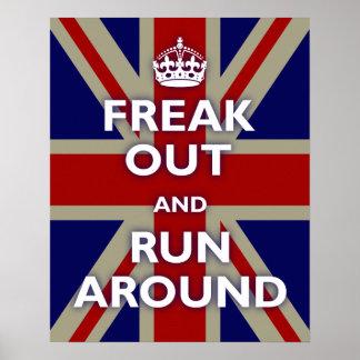 British Flag Parody Poster