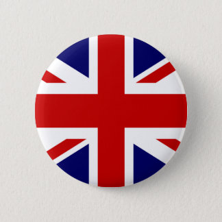 British flag pinback button | Union Jack design