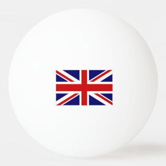 British flag ping pong balls for table tennis