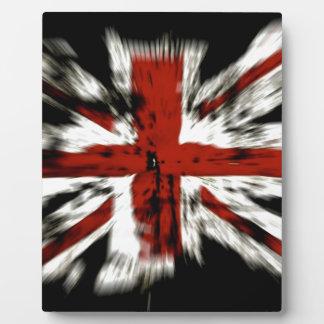British Flag Plaque