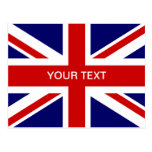 British flag post cards | Union Jack design