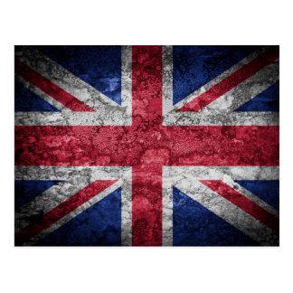 British flag. post cards