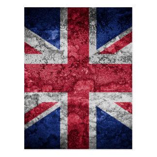 British flag. postcard
