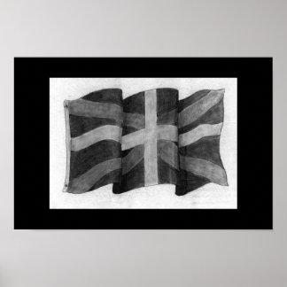 British Flag Poster