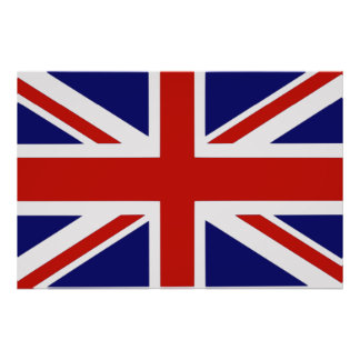 British flag posters