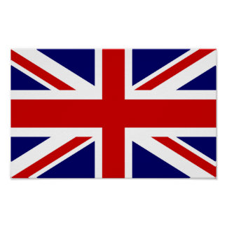 British flag poster | Union jack design