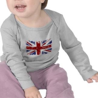 British Flag Punk Grunge Tee Shirt