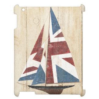British Flag Sailboat iPad Cover