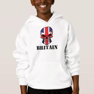 British Flag Skull Britain
