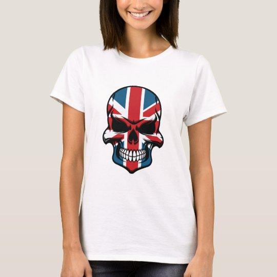 British Flag Skull T-Shirt