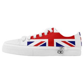 British flag, sneaker's low tops