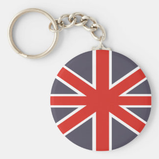 British Flag Souvenir Keychain