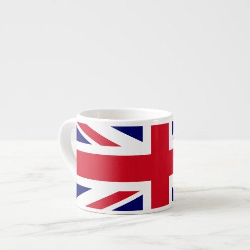 British Flag Espresso Cups